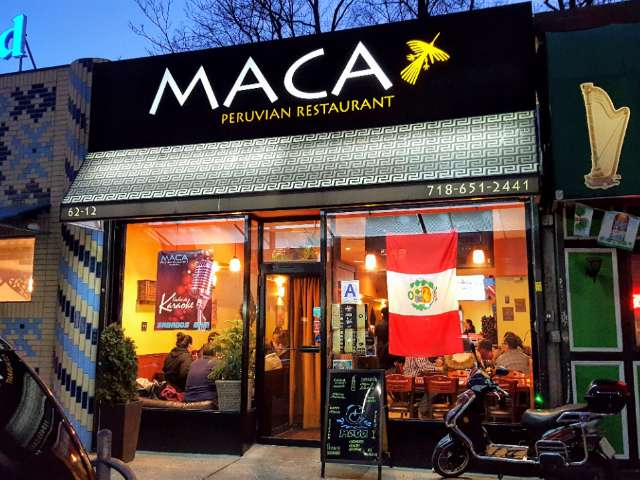 A picture of MACA Peruvian Restaurant